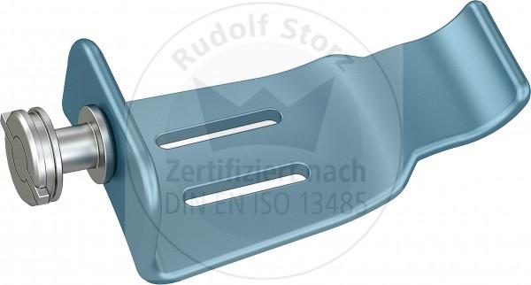 BB-Blades Stainless Steel, Blunt, Width (B) 26.5 mm