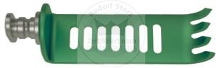 CCR-Valve Titan, 4-zahnig, grün, medial/lateral, Breite (B) 19 mm
