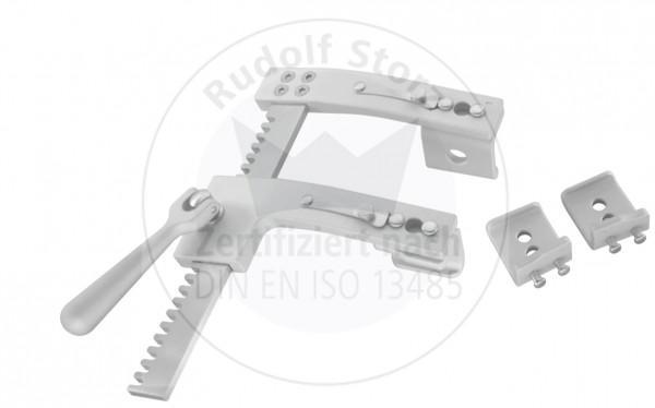 Rippenspreizer BURFORD-FNIOCHIETTO, inklusive Seitenvalve