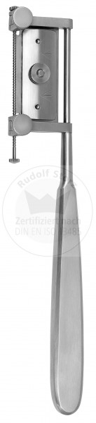 SILVER, thickness of graft adjustable 0.1 - 4 mm, complete with 1 exchangeable blade