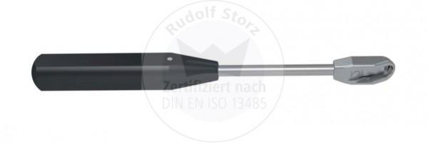 CCR/CLR Handgriff, Side-load mit schwarzem PPSU-Rändelgriff
