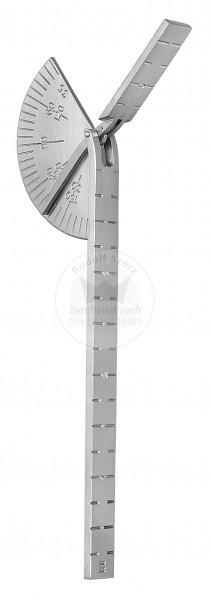 "CAROLL Fingerwinkelmesser, Länge 140 mm / 5 ½ """