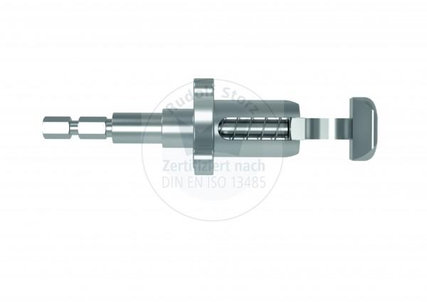 Standard Instrumentenklemme mit 6-Kant-Schnellkupplungsadapter