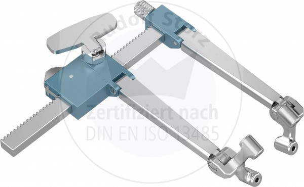 BB-Retractor, Compression and Distraction, max. opening 60 mm, Arm Length 60 mm