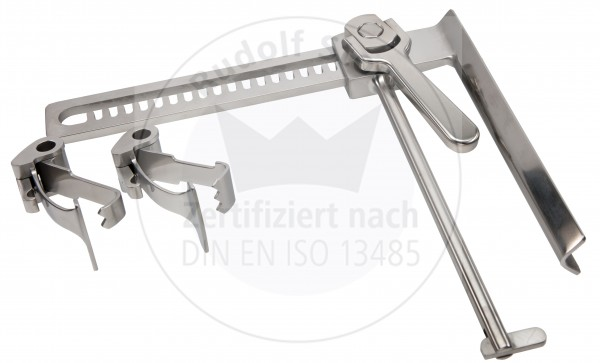 COUETIL Thorax Spreizer, Länge Zahnstange 220 mm