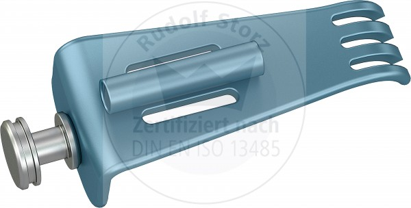 BB-Blades Stainless Steel, with Teeth, with Cold Light Connector, Width (B) 22.5 mm