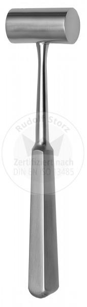 Hammer PARTSCH, Stahlkopf, Kopfgewicht 120 g, Stahlgriff, massiv