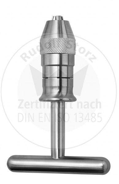 Universal-Bohrfutter Rudolf Storz mit T-Griff und Rasterung