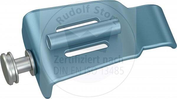 BB-Valven Edelstahl, stumpf, Breite (B) 26,5 mm