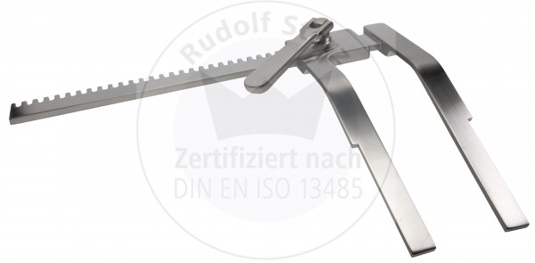 Rippensperrer Rahmen, DE BAKEY, Spreizweite 200 mm