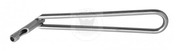 Büchse für Halbrohr und Formplatte, Ø 3,2 mm