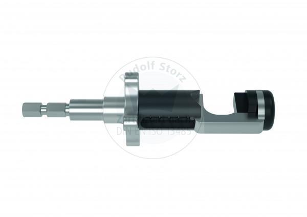 Isolierte Optikklemme mit 6-Kant-Schnellkupplungsadapter
