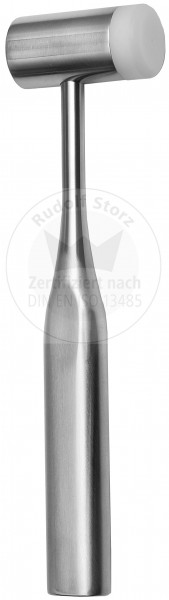 Hammer, Stahlkopf, Kopfgewicht 250 g, einseitige Kunststoffbacke, Griff hohl, massiv