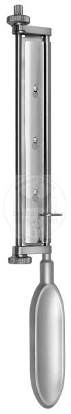 WATSON einstellbare Hautlappendicke von 0,1 - 1,5 mm, max. Schnittbreite 160 mm