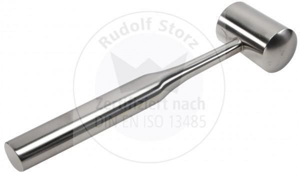 Hammer COTTLE für Knochen, Stahlkopf, Kopfgewicht g, Hohlschaft, massiv