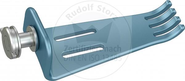 BB-Valven Titan, gezahnt, Breite (B) 22,5 mm