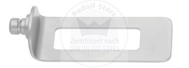 Gefensterte Retraktorvalven, Breite 24 mm