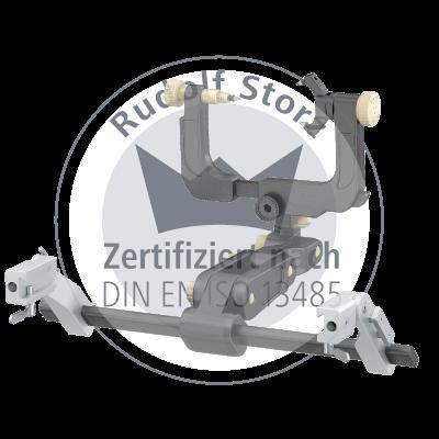 CT-kompatibles MF-Kopfhaltesystem mit Schädelhalter