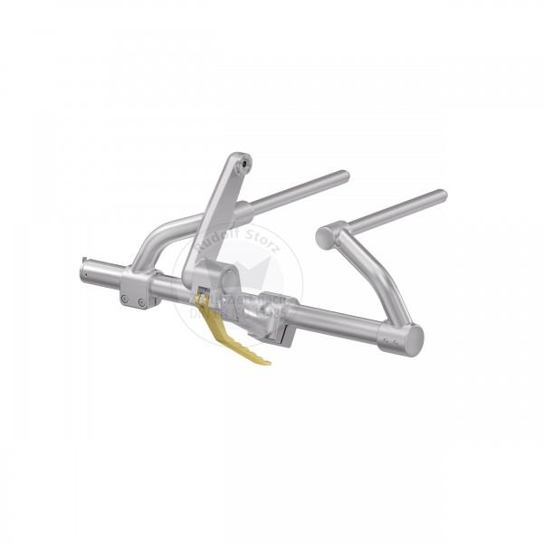 Gold-Standard MF-Tischanbindung mit Klemmstativ