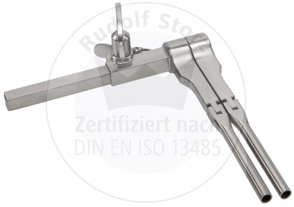 Vertebra Spinalspreizer r/l mit 180° schwenkbare Arbeitsteile