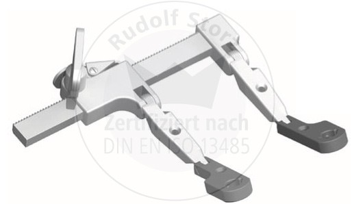 CCR CASPAR Cervical Basic Retractor with Double Hinge, Distal Hinge made of Titan, radiolucent